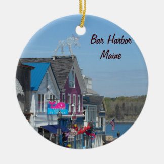 Pubhamn, Maine Julgransprydnad Keramik