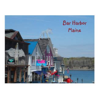 Pubhamn, Maine Vykort