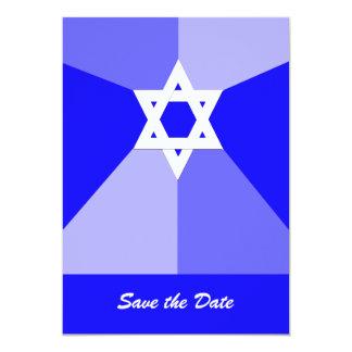 PubMitzvah spara blåtten för daterainbjudankort 12,7 X 17,8 Cm Inbjudningskort
