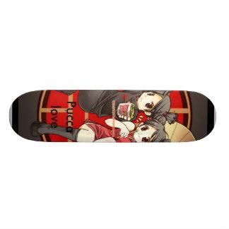 Pucca kärlek old school skateboard bräda 18 cm