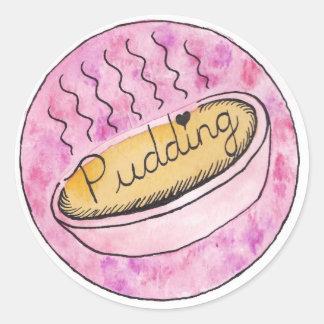 Pudding! - Klistermärke