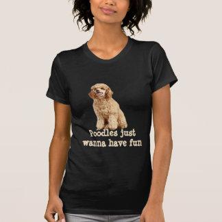 Pudeldamskjorta T-shirt
