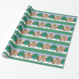 Pudlar för julpepparkakahus presentpapper
