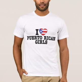 Puerto Rican flickor T-shirts