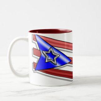 Puerto Rico_1 Två-Tonad Mugg