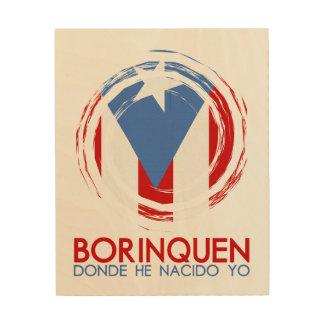 Puerto Rico Borinquen Trätavla