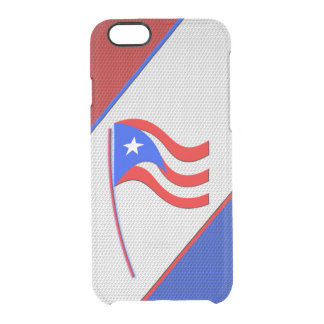 Puerto Rico Clear iPhone 6/6S Skal