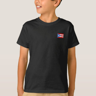 Puerto Rico flagga T Shirt
