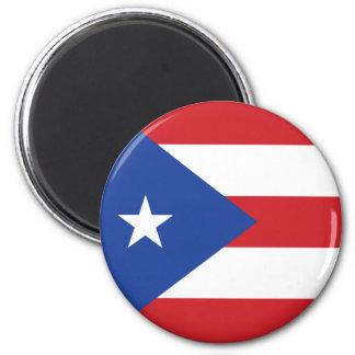 Puerto Rico flaggamagnet Magnet