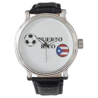 Puerto Rico fotbollklocka Armbandsur