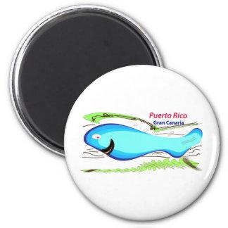 Puerto Rico Gran Canaria souvenir Magnet