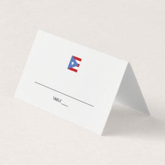 Puerto Rico händelse Placeringskort