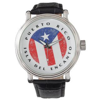Puerto Rico Isla del Encanto Klocka