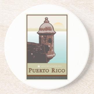 Puerto Rico mig Underlägg Sandsten