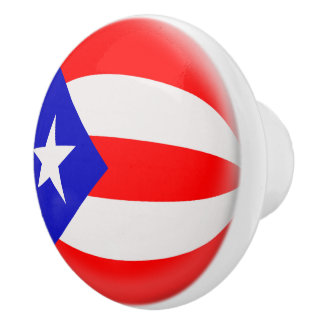 Puerto Rico Puerto Rican flagga Knopp
