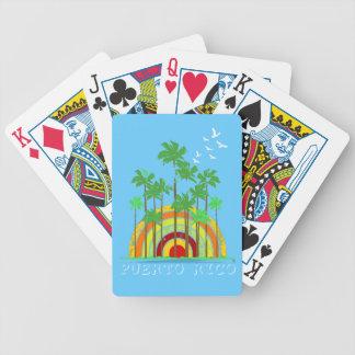 Puerto Rico som leker kort Spelkort