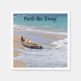 """Puerto Rico starka"" coctailservetter Servett"