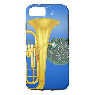 Pufferfisk som leker tubaen - fodral för iPhone 7
