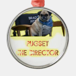 Pugsley direktören julgransprydnad metall