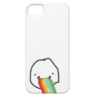 Puking regnbågar iPhone 5 cases