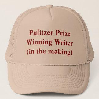 Pulitzer PrizeWinning författare (i danandet) Truckerkeps