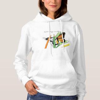 Pullover för fjärilsfärgläggningtröja tee shirt