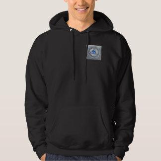 Pullover Michelle Andrews för krigarePoetHoodie Sweatshirt Med Luva
