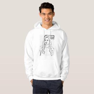 pullover tröja med luva