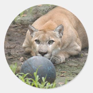 Puma 015 runt klistermärke