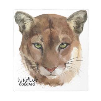 """Puma "", Anteckningsblock"