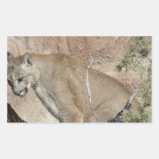 Puma Rektangulärt Klistermärke