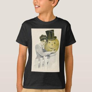 Pumpa för top hat för kvinnajackO lykta T-shirts