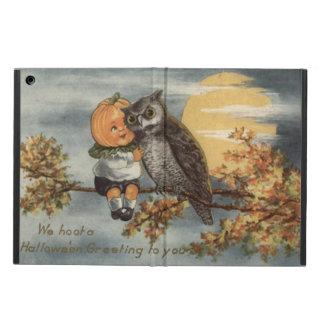 Pumpa för träd för Pumpkinhead ugglafullmåne iPad Air Fodral