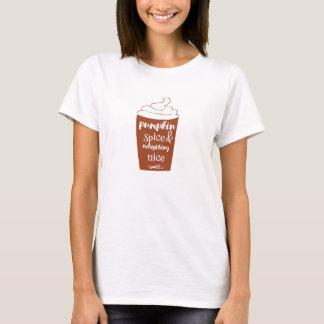 Pumpakrydda & allt trevlig T-tröja Tee Shirt