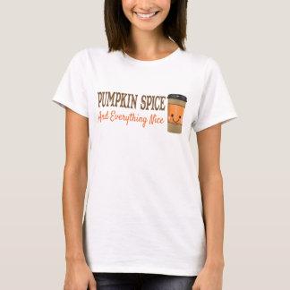 Pumpakrydda och allt trevlig T-tröja Tshirts