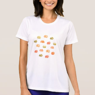 Pumpakvinna T-tröja för kapacitet T Shirt