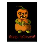 Pumpkinman vykort