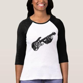 Punk damer för stenslothlångärmad t shirts