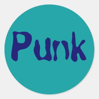 Punk Runt Klistermärke