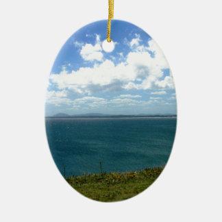 Punta Ballena Uruguay Julgransprydnad Keramik