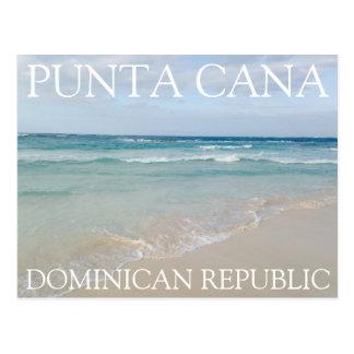 Punta Cana, avslappnande strand för Dominikanska Vykort