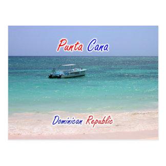 Punta Cana fartyg Vykort