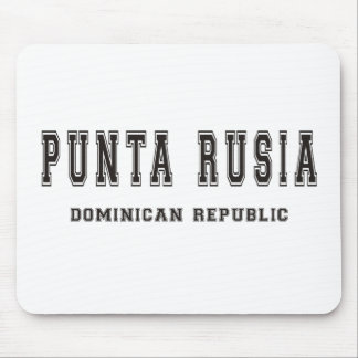 Punta Rusia Dominikanska republiken Musmatta