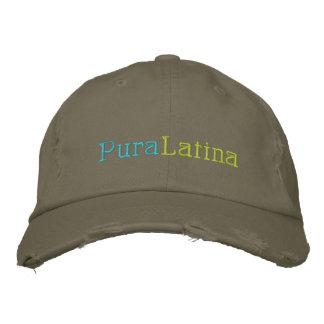 Pura Latina Broderad Keps
