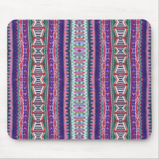 purpurfärgad aztec musmattor