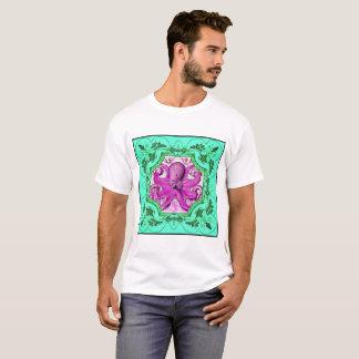 purpurfärgad bläckfisk t-shirt
