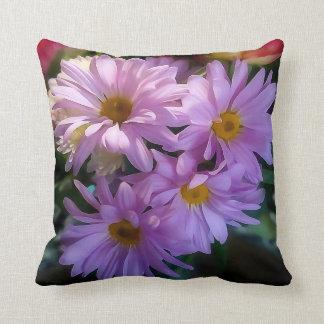 Purpurfärgad dekorativ kudde för blomma för Shasta