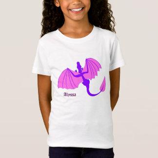 Purpurfärgad drake med den kända skjortan tröja