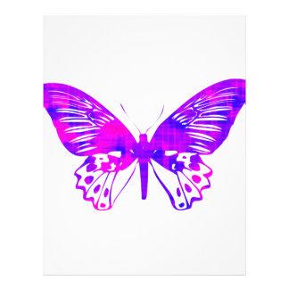 Purpurfärgad fjäril brevhuvud