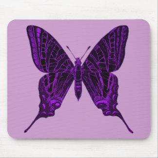 Purpurfärgad fjäril Mousepad Musmatta